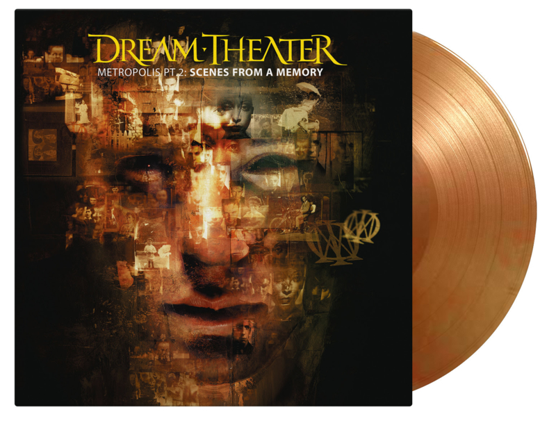 Dream Theather Metropolis Part 2: Scenes From a Memory 2LP - Coloured Vinyl-