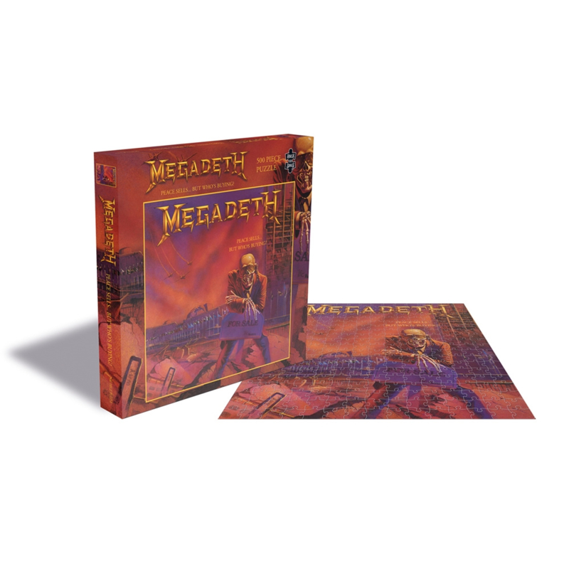 Megadeth Peace Sells ...But Who's Buying? Puzzel