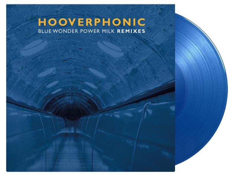Hooverphonic Blue Wonder Power Milk Remixes LP - Blue Vinyl-