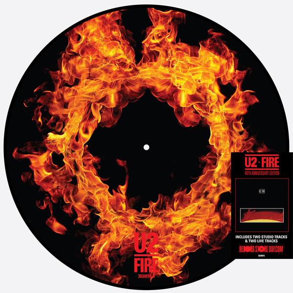 U2 Fire 12' -Picture Disc-