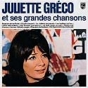 Juliette Gréco - and her Greatest Chansons LP.