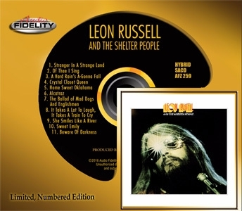 Leon Russell Leon Russell and The Shelter People Numbered Limited Edition Hybrid Stereo SACD