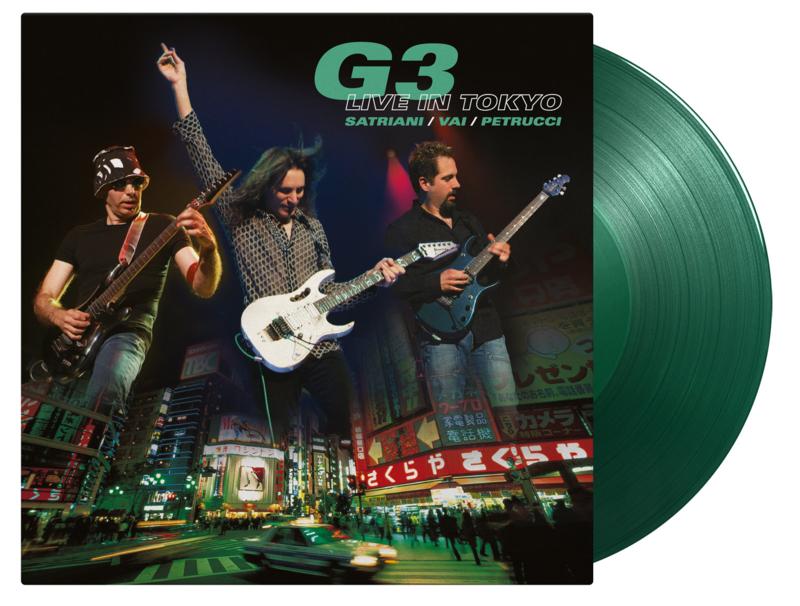 G3 Live In Tokyo 2LP - Green Vinyl-