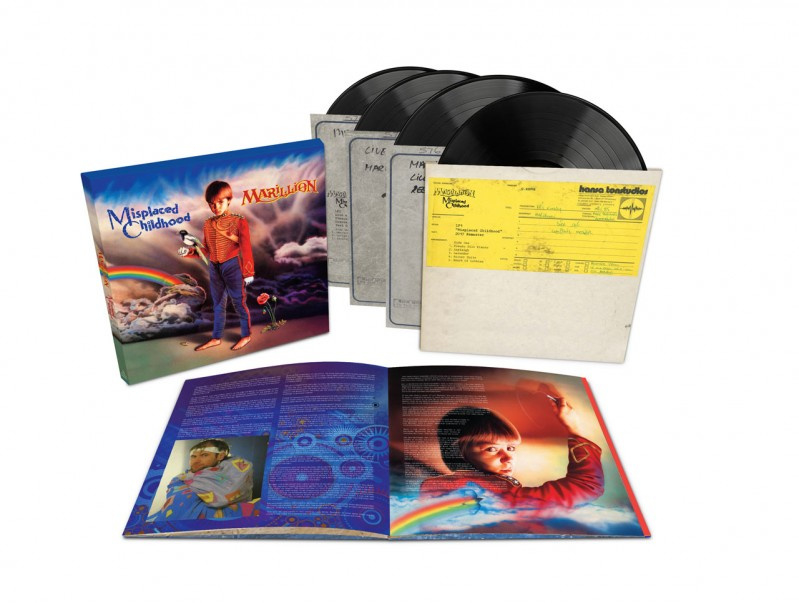 Marillion Misplaced Childhood 4LP -Deluxe-