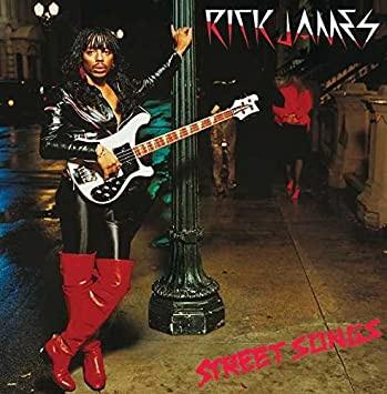 Rick James Street Songs LP