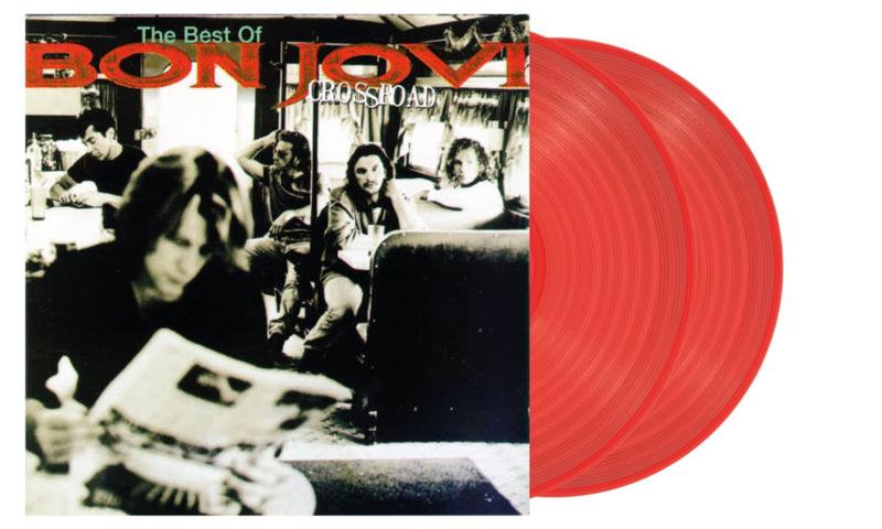 Bon Jovi Crossroads 2LP - Red Vinyl-