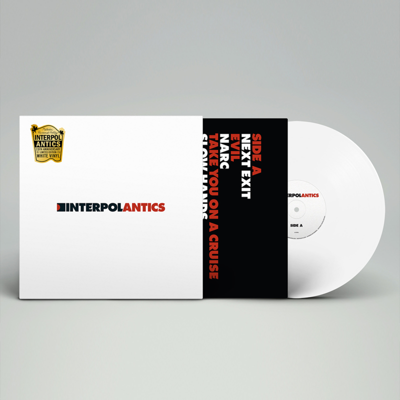Interpol - Antics LP - White Vinyl-