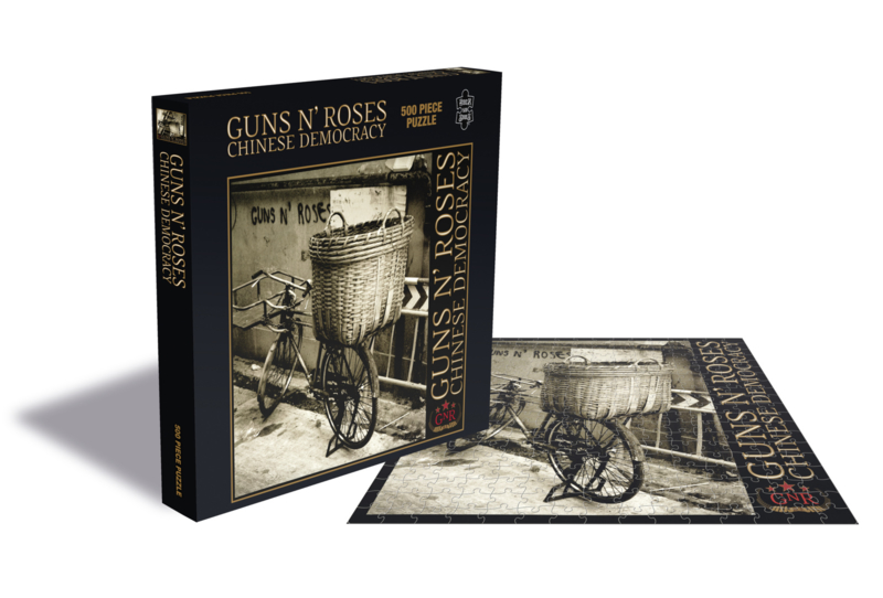 Guns 'N Roses Chineses Democrazy Puzzel