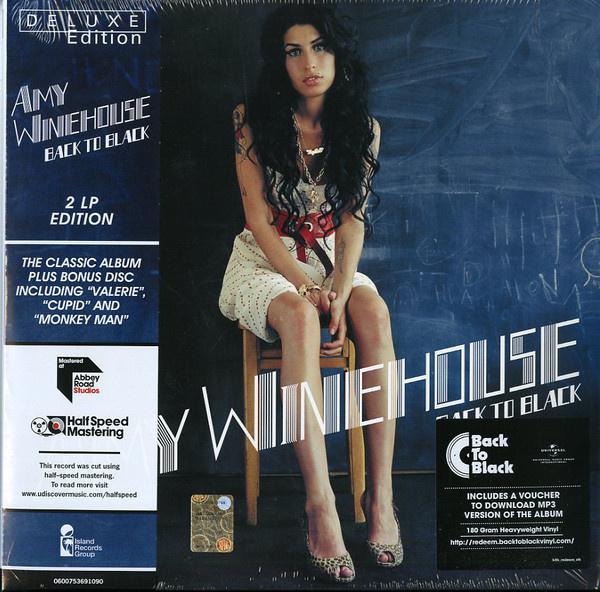 Amy Winehouse  Back to Black 2LP ltd- Half Speed Masters-