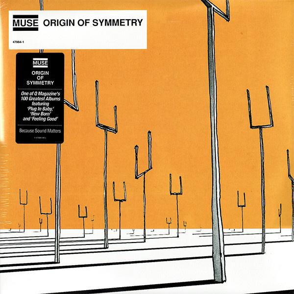 Muse Origin Of Symmetry 2LP