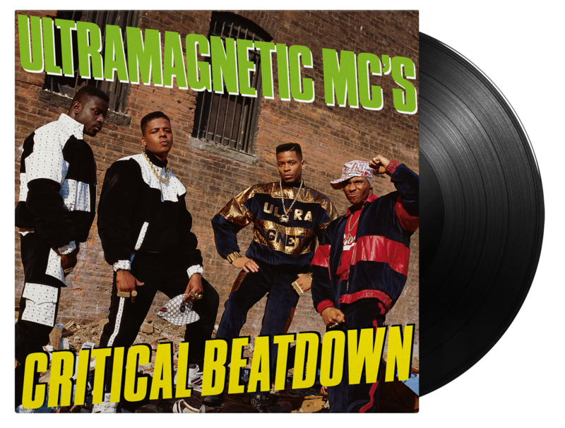 Ultramagnetic MC's Critical Beatdown 2LP