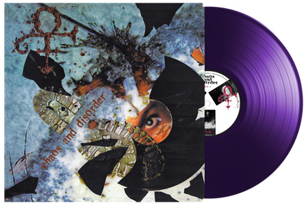 Prince Chaos and Disorder LP -Purple Vinyl-
