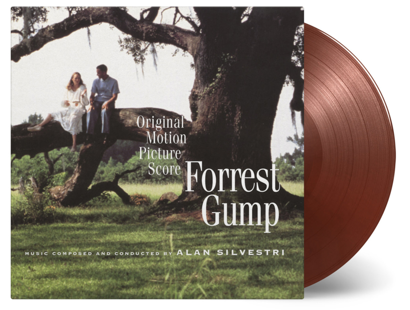 Forrest Gump Score LP - Chocolate Vinyl-