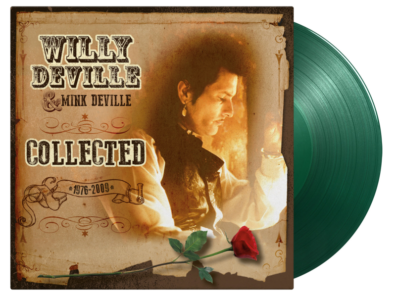 Willy DeVille Collected 2LP - Green Vinyl-