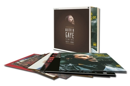 Marvin Gaye Volume Three 1971-1981 180g 8LP Box Set