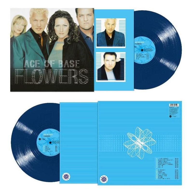 Ace Of Flowers Flowers LP - Blue Vinyl-