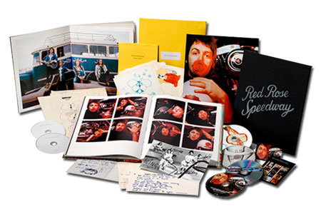 Paul McCartney & Wings Red Rose Speedway Deluxe Edition 3CD, 2DVD & Blu-Ray Box Set