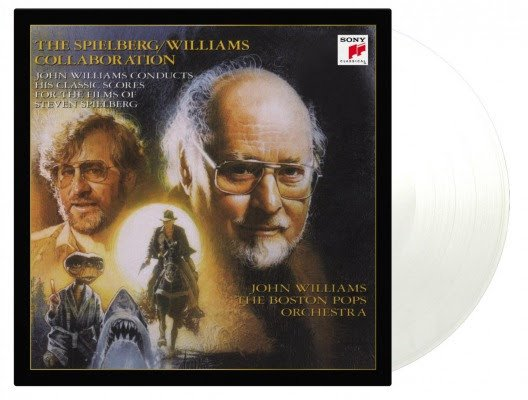 JOHN WILLIAMS & STEVEN SPIELBERG - THE SPIELBERG/WILLIAMS COLLABORATION  2LP - Coloured Vinyl-