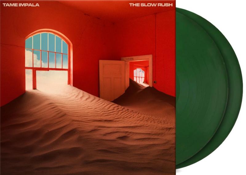 Tame Impala The Slow Rush 2LP - Green Vinyl-