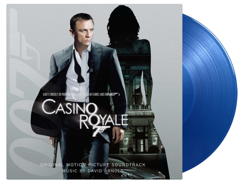 Casino Royal 2LP - Blue Vinyl-