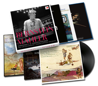 Mahler Bernstein Conducts Mahler: The Vinyl Edition 180g 15LP