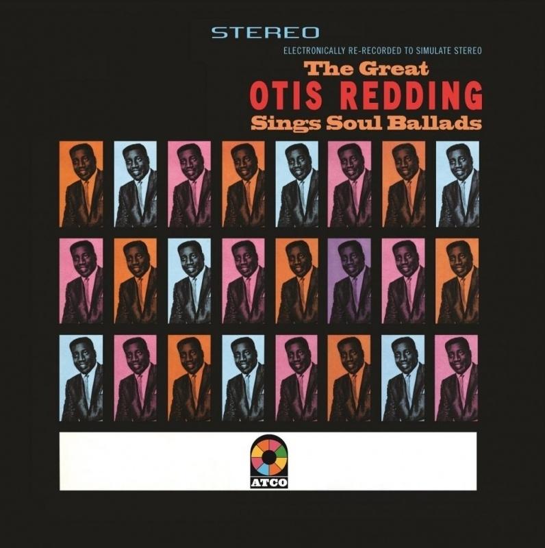 Otis Edding Great Otis Sings Soul Ballads LP