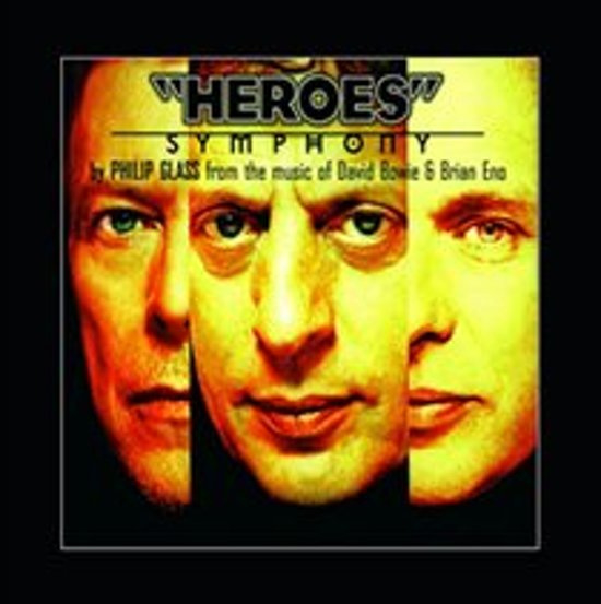 Philip Glass Heroes Symphony LP