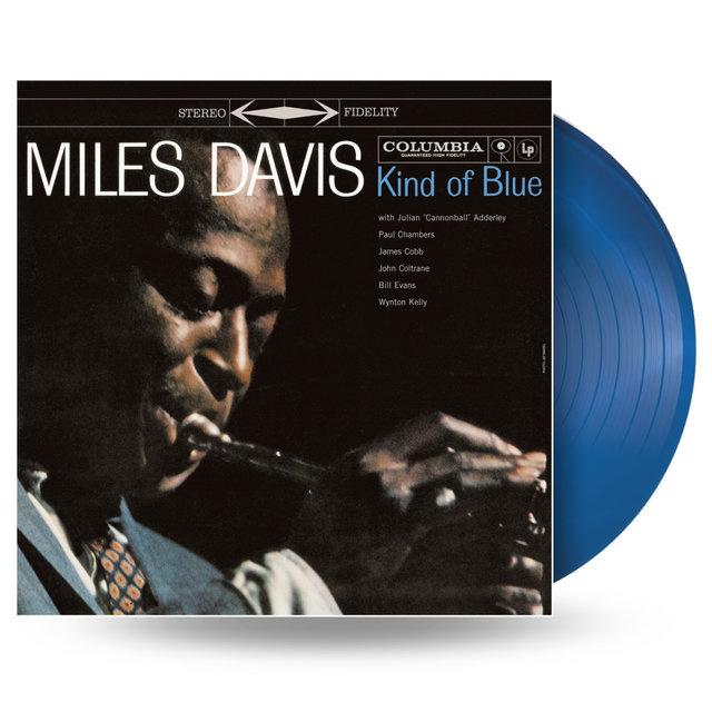 Miles Davis Kind Of Blue - Blue Vinyl-