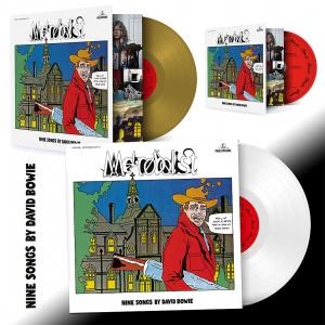 David Bowie Metrobolist LP - Gold / White Vinyl