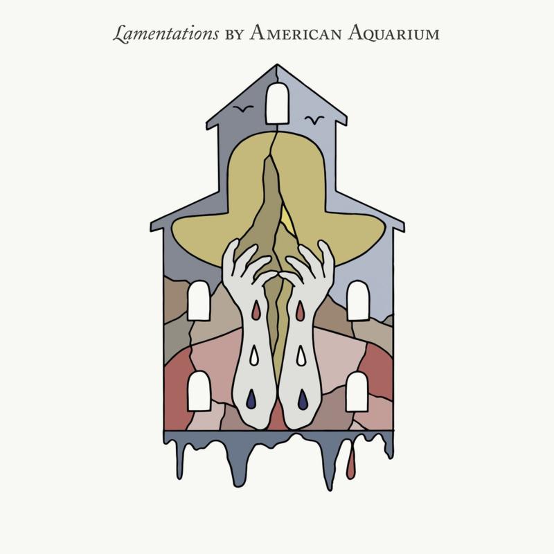 American Aquarium Lamentations LP - Grey Opaque Vinyl-