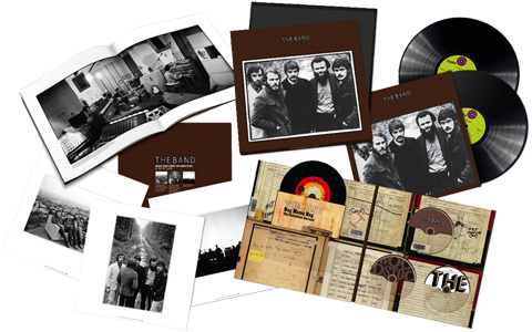 "The Band The Band - 50th Anniversary 180g 45rpm 2LP, CD, Blu-ray & 7"" Vinyl Set"