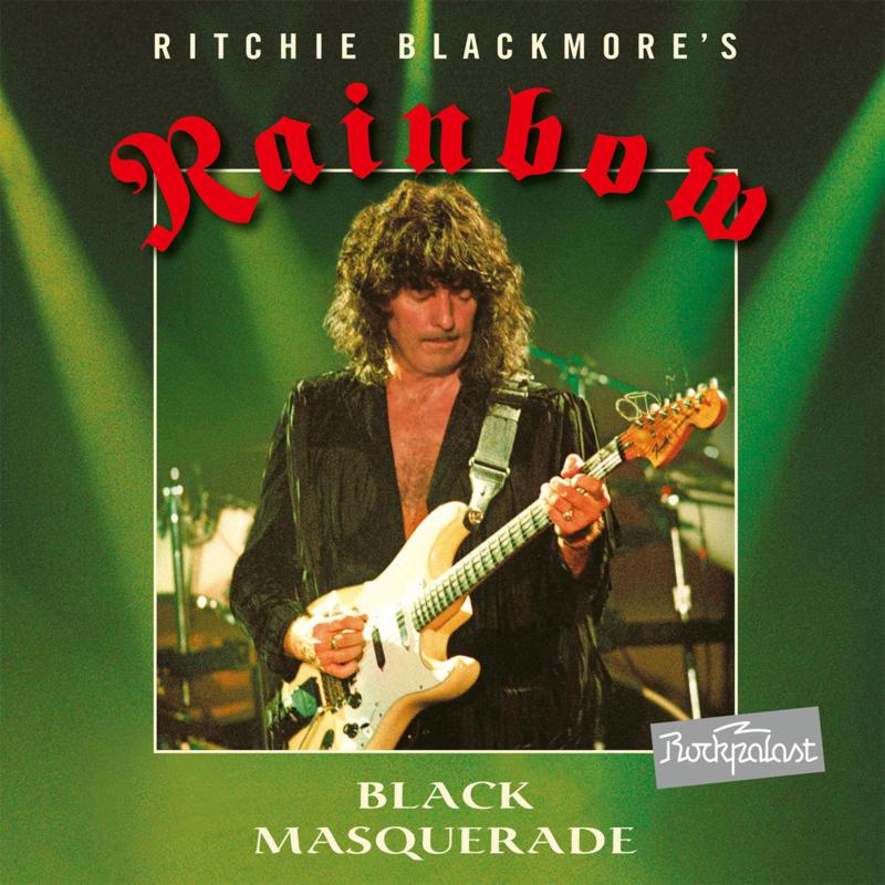 Rainbow Black Masquerade Numbered Limited Edition 3LP -Light Green Vinyl-