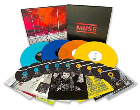 Muse The Origin Of Muse 9CD + 4LP - Coloured Vinyl-   Vinyl