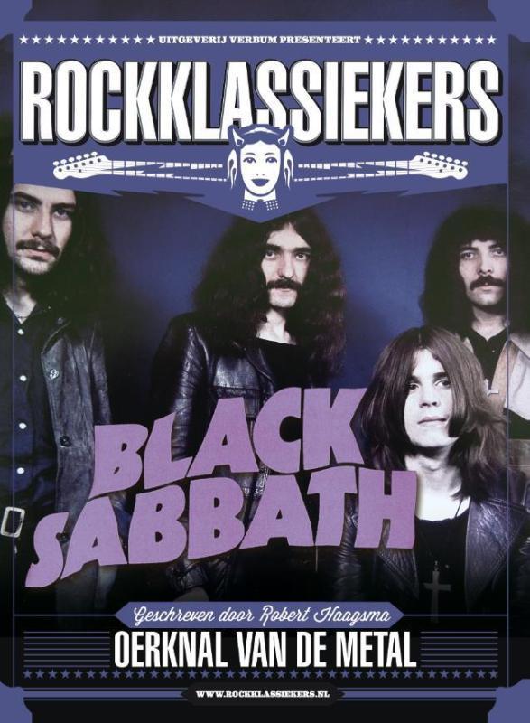 Black Sabbath Oerknal van de Metal Boek
