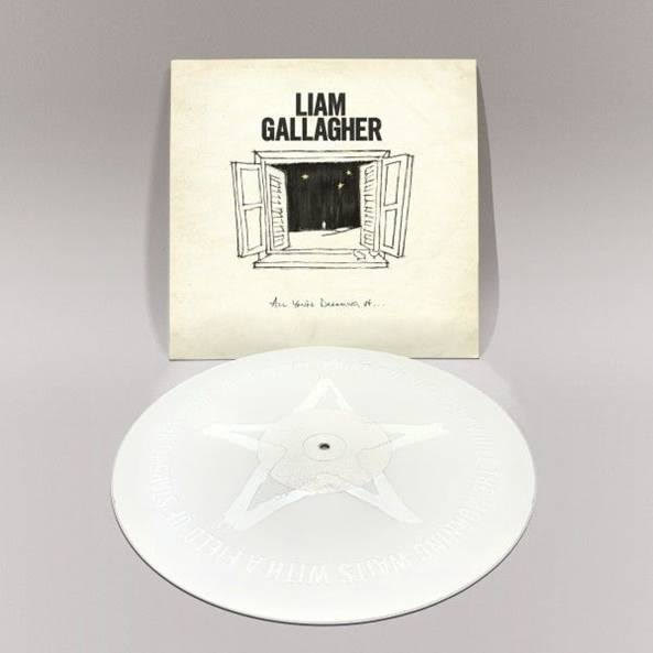 Liam Gallagher All You're Dreaming Of later 12' - White Vinyl-