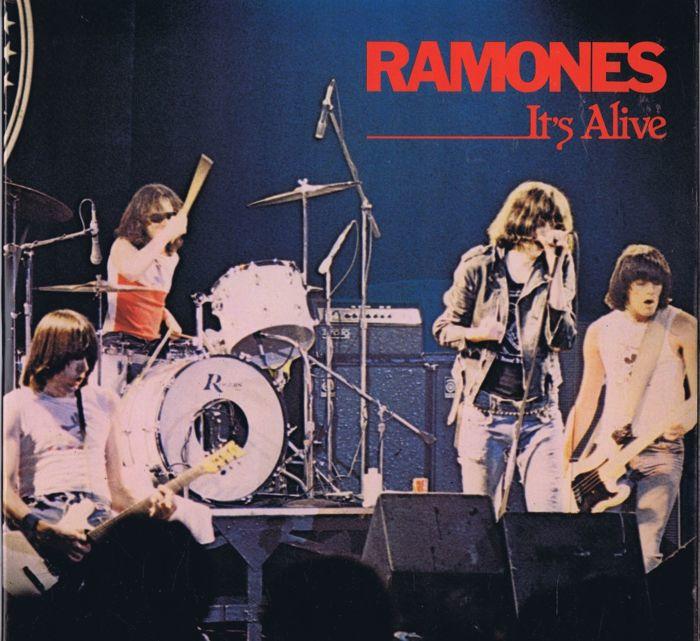 Ramones Its Alive 2LP - Coloured Vinyl-