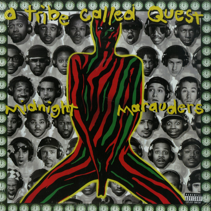 A Tribe Called Quest Midnight Marauders LP