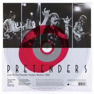 Pretenders Live! At The Paradise Theater LP