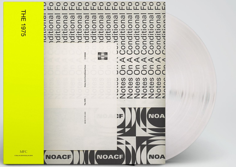 The 1975 Notes On A Conditional Form 2LP - White Vinyl-