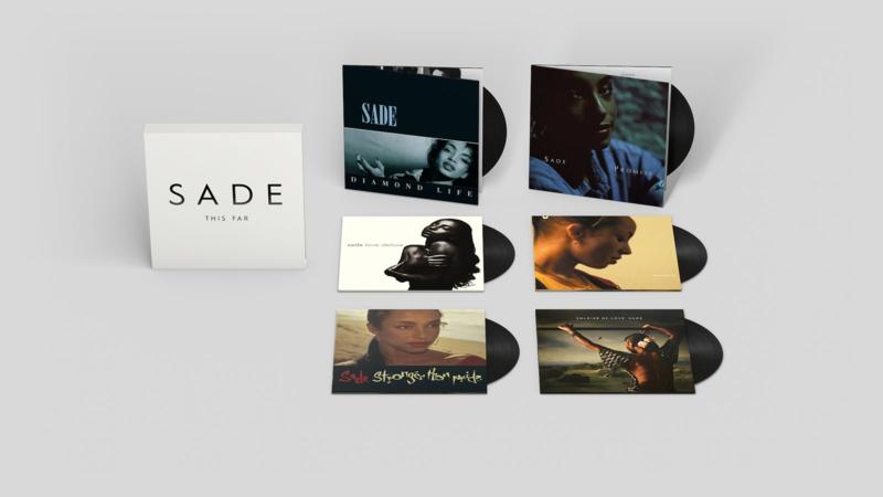 Sade This Far 180g 6LP Box Set