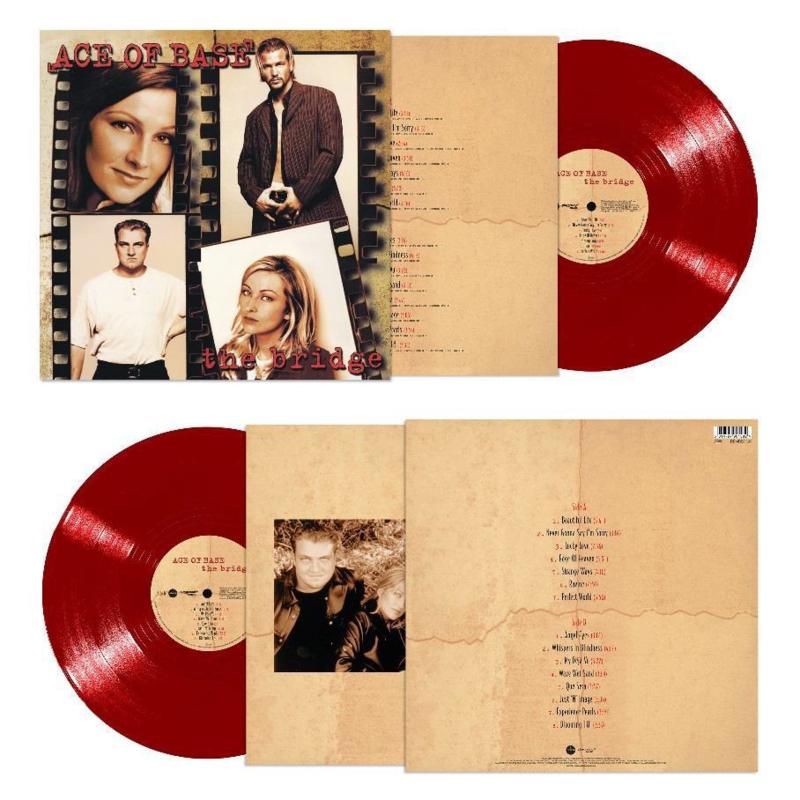 Ace Of Base The Bridge LP - Red Vinyl-