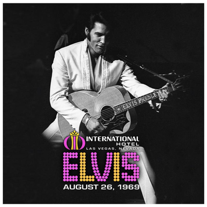 Elvis Presley Live At The International Hotel, Las Vegas, Nevada August 26, 1969 2LP