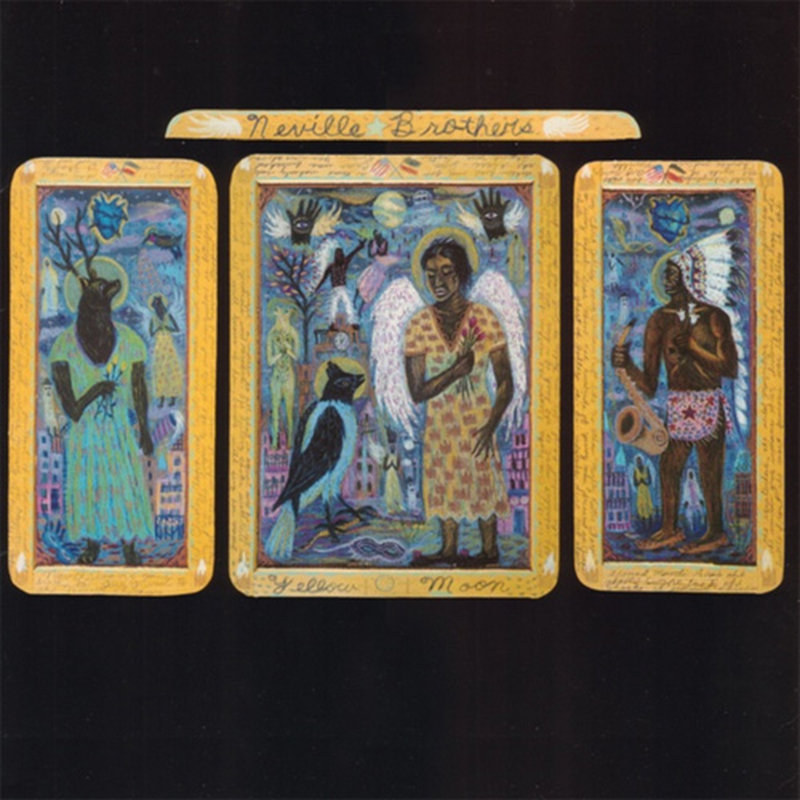 The Neville Brothers Yellow Moon LP