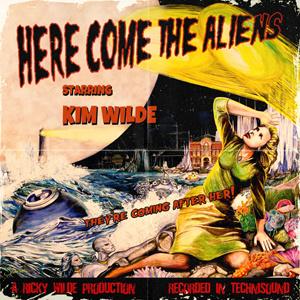 Kim Wilde Here Come the Aliens LP (Yellow Vinyl)