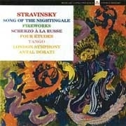 STRAVINSKY SONG OF THE NIGHTINGALE & FIREWORKS LP