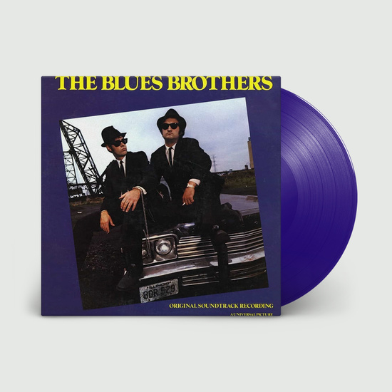 The Blues Brothers LP - Blue Vinyl-