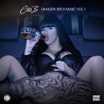 CARDI B Gangsta Bitch Music Vol. 1 LP