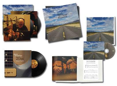 Mark Knopfler Down the Road Wherever Deluxe CD & 3LP Box Set