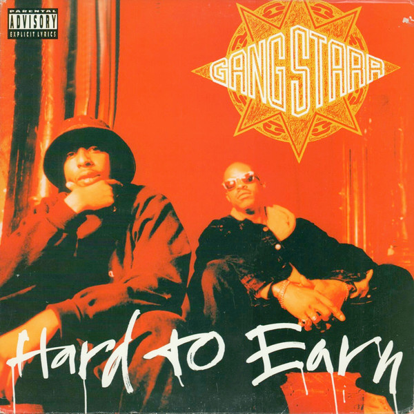 Gang Starr Hard to Earn 2LP