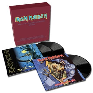 Iron Maiden The Complete Albums Collection 1990-2015 180g 3LP Collector's Box